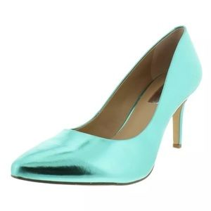 I.N.C. Zitah Metallic green heels